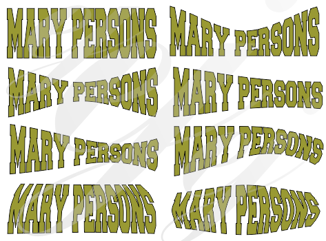 Mary Persons Bulldogs Football Curved SVG DXF PDF JPG JPEG VECTOR Graphic Design Digital Cutting File Instant Download Cameo Silhouette Cricut