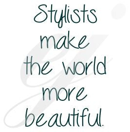 Stylist make the world more beautiful svg DXF PDF JPG JPEG VECTOR Graphic Design Digital Cutting File Instant Download Cameo Silhouette Cricut