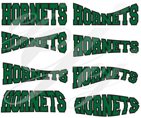 Hornets SVG DXF PDF JPG JPEG VECTOR Graphic Design Digital Cutting File Instant Download Cameo Silhouette Cricut