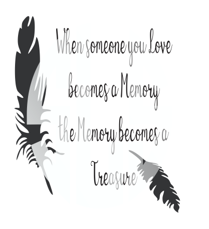 when someone you love becomes a memory SVG DXF PDF JPG JPEG VECTOR Graphic Design Digital Cutting File Instant Download Cameo Silhouette Cricut