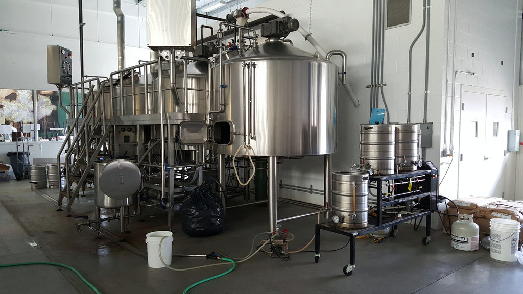 Our Malt Liquor Brewday at Sunken City Brewing Co - Warning: Lots of Pictures