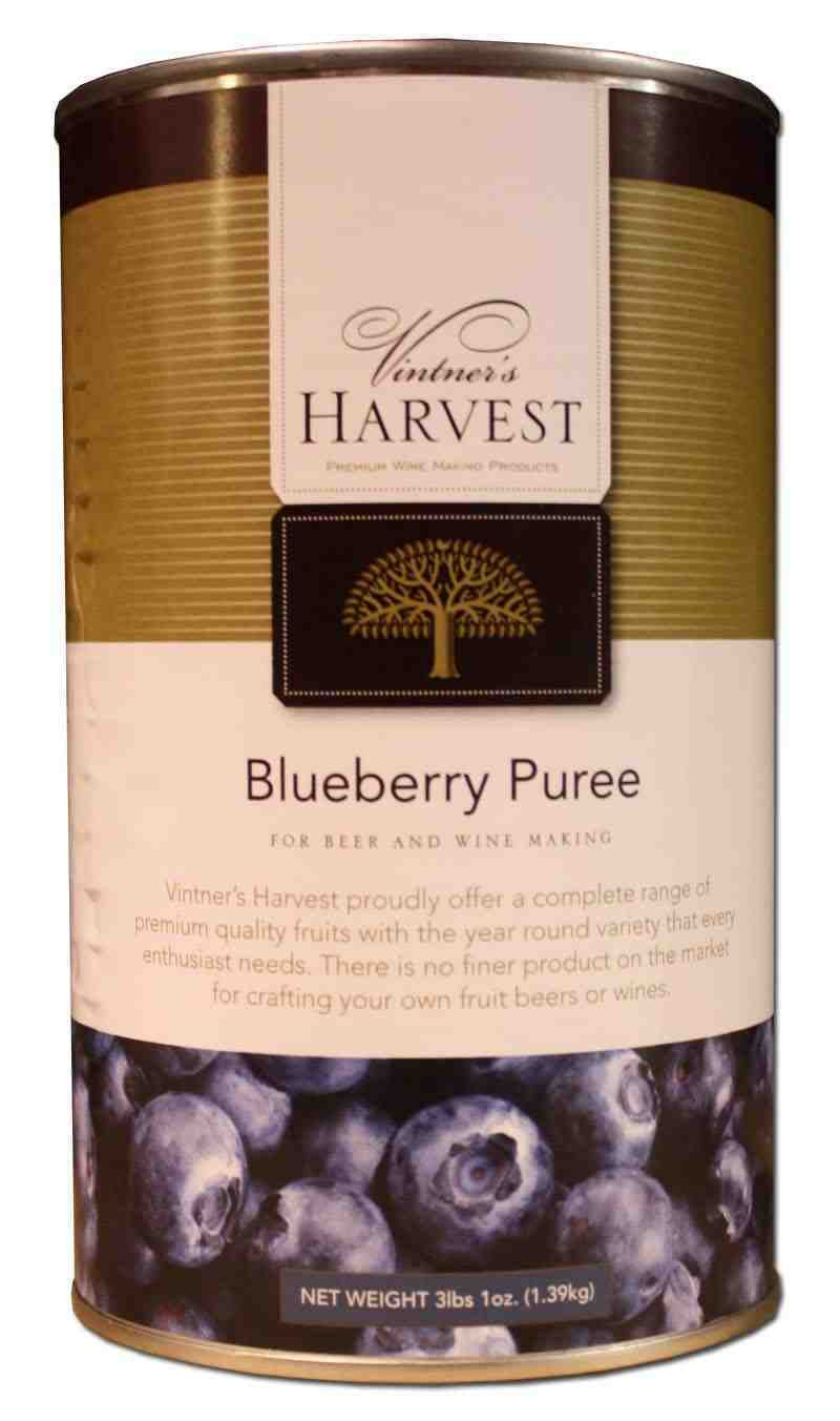Vintner's Harvest Blueberry Puree - 49 oz can