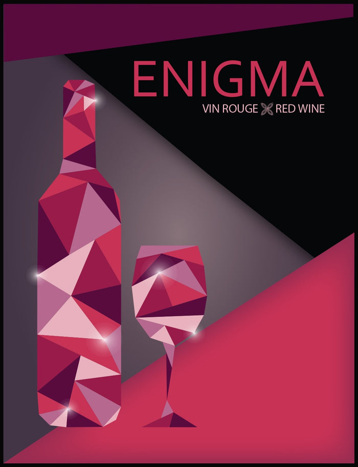 Enigma Wine Labels - 30/pack
