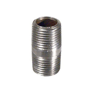 Stainless Steel Nipple - 1/2 in. x 1.5 in.