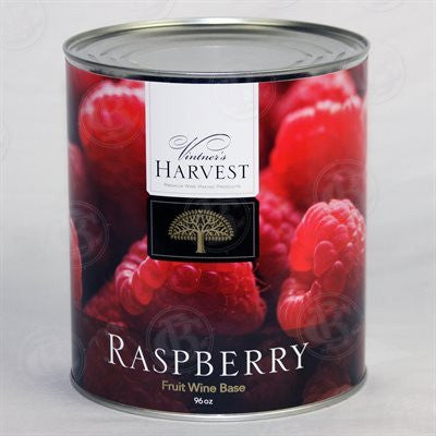 Vintner's Harvest Wine Base, Raspberry - 96 oz Can