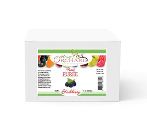 Brewer's Orchard Natural Blackberry Puree - 4.4 lb
