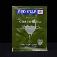 Red Star Cote de Blanc Wine Yeast 5 g