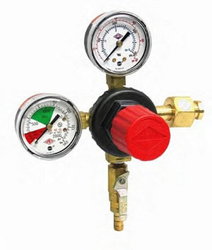 "Taprite Primary Dual Gauge CO2 Regulator with 5/16"" Barb"