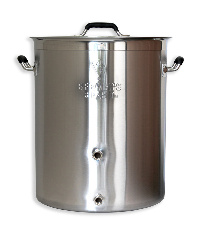 16 Gallon Brewer's Beast Brewing Kettle with Two Ports