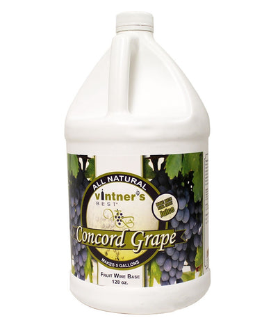 Vintner's Best Concord Grape Wine Base - 1 Gallon