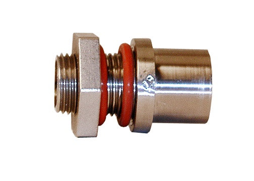 Stainless Steel Bulkhead, Weldless with O-Rings