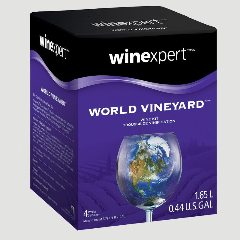 World Vineyard Italian Pinot Grigio 1.65L Wine Kit