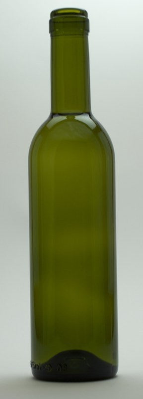Dark Green Semi-Bordeaux Mid-Punt Bottles (375 mL) - Single