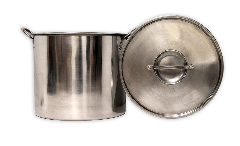 Eco-Pot 20 Quart Stainless Steel Boiling Pot with Lid