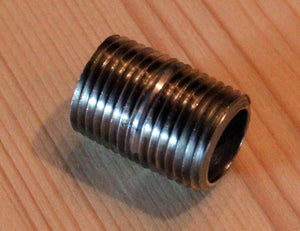"1/2"" Stainless Steel Nipple, 1 1/8"" Long"