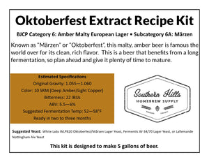Oktoberfest 5 Gallon Extract Recipe Kit