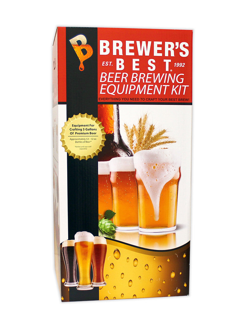 Brewer's Best Deluxe Equipment Kit with 5 Gallon Glass Carboy