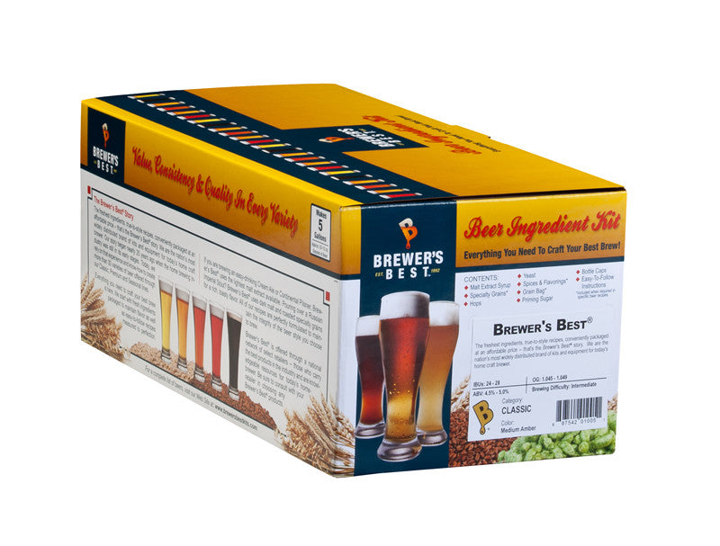 Brewer's Best Classic English Brown Ale Ingredient Kit