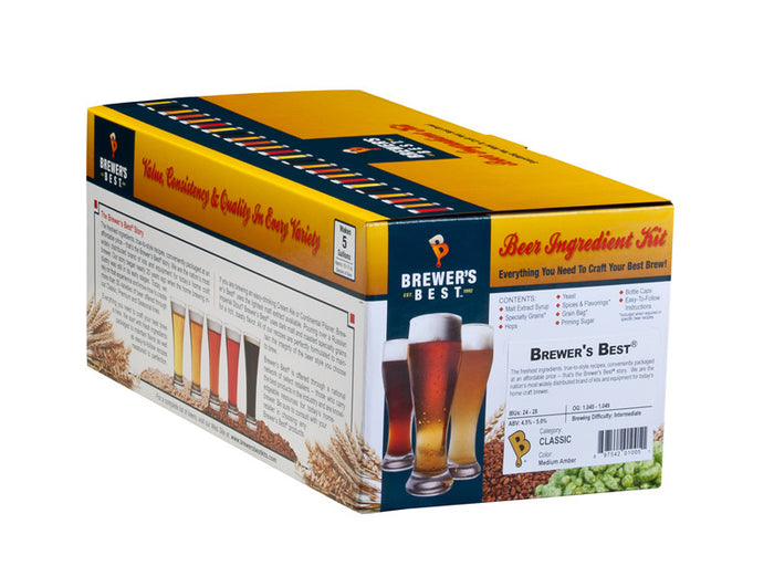 Brewer's Best Classic Belgian Saison Ingredient Kit