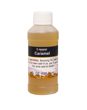 Natural Caramel Flavoring Extract 4 oz