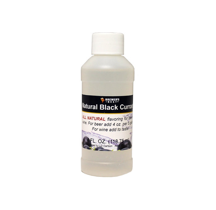 Natural Black Currant Flavoring Extract 4 oz