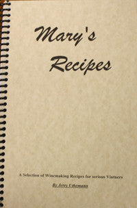 Mary's Recipes