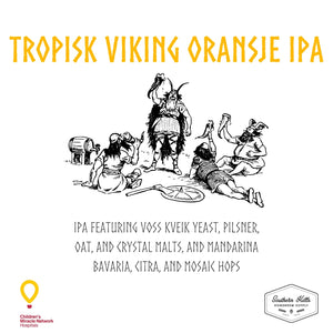 Tropisk Viking Oransje IPA 5 Gallon Extract Recipe Kit