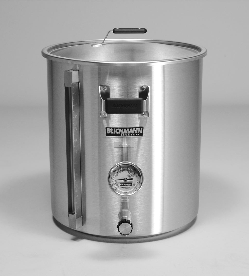 Blichmann G2 BoilerMaker Brew Pot - 10 gallon - Fahrenheit Pre-Drilled for AutoSparge in L2 Position