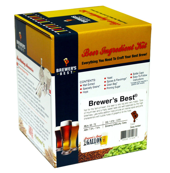 Brewer's Best American Red Ale One Gallon Ingredient Kit