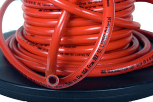 "CO2 Gas Thick Wall Trans-Red Tubing 5/16"" ID X 9/16"" OD, per foot"