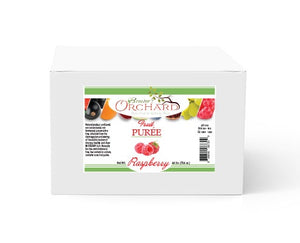 Brewer's Orchard Natural Raspberry Puree - 4.4 lb