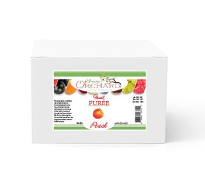 Brewer's Orchard Natural Peach Puree - 4.4 lb