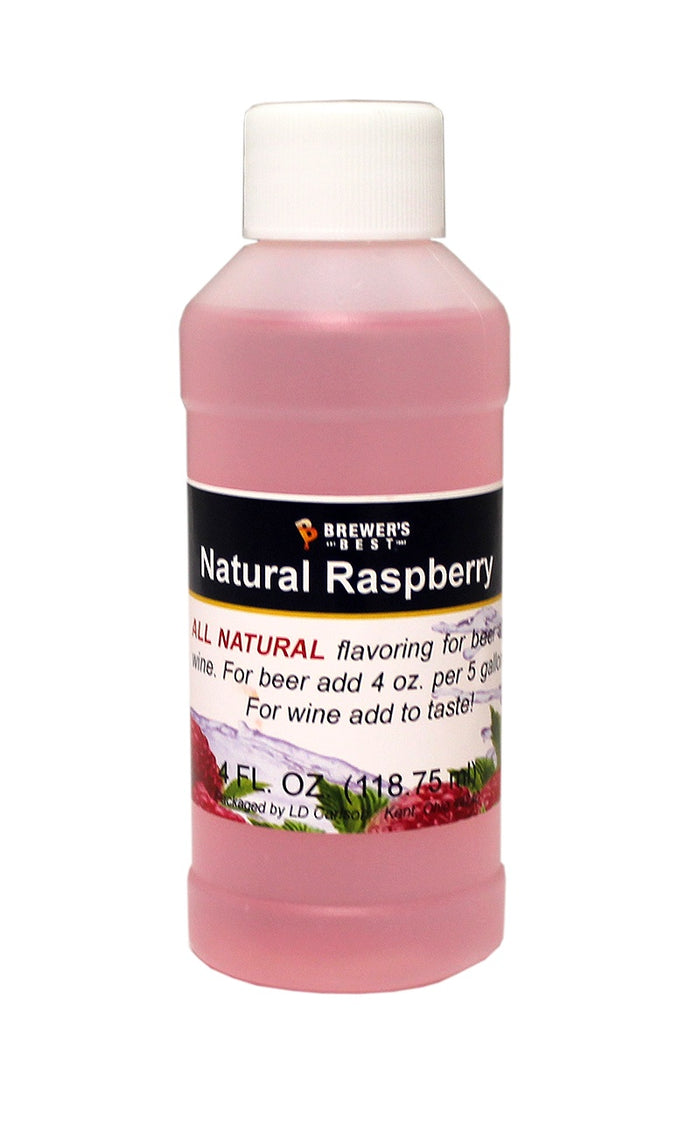 Natural Raspberry Flavoring Extract 4 oz