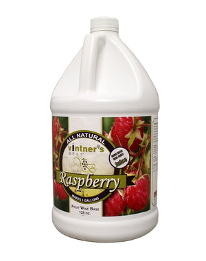 Vintner's Best Raspberry Wine Base - 128 oz