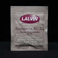 Lalvin RC212 Wine Yeast 5 g