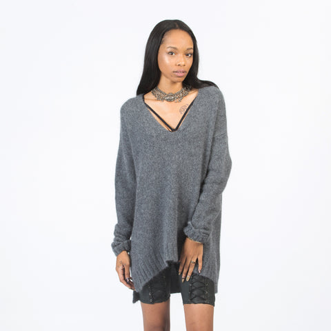 ASHLEY Angora-Silk Pullover