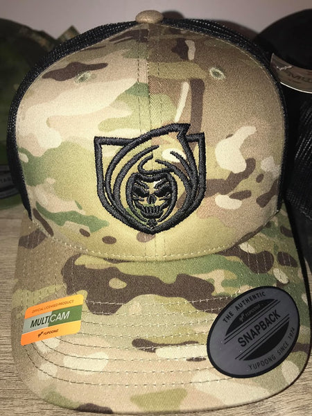 RISK365 APPAREL Multicam Trucker Hat