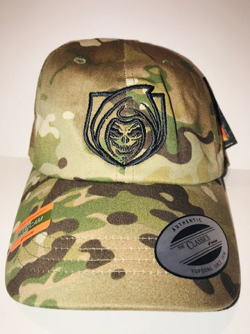 RISK365 APPAREL Adjustable Multicam Hat