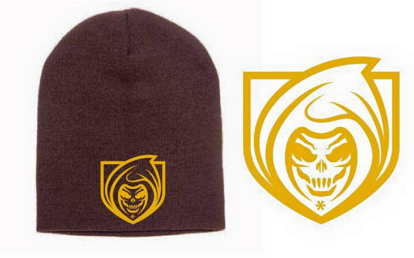 RISK365 APPAREL Mountie Squad Knit Beanie Cap