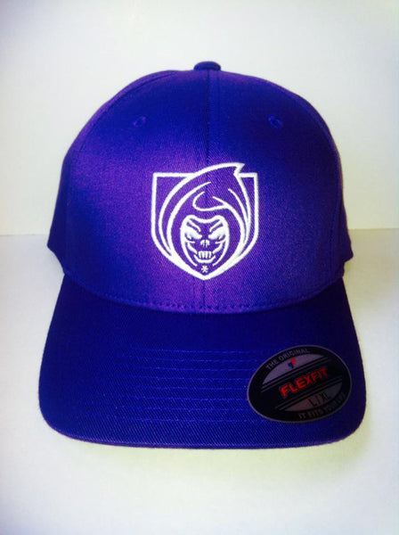 RISK365 APPAREL Purple Squad Flexfit Fitted Hat