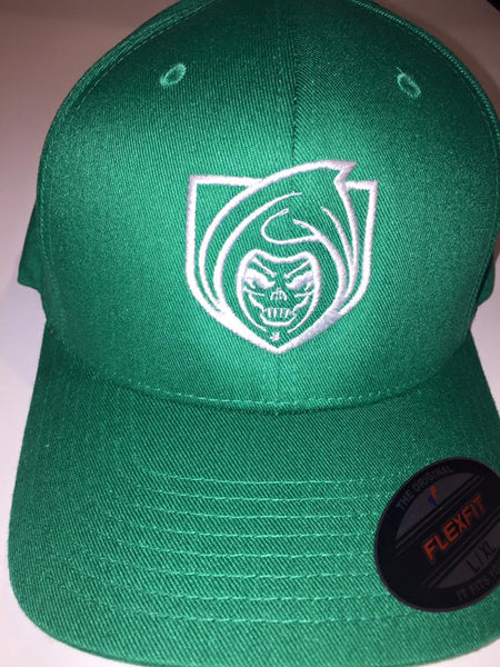 RISK365 APPAREL Green Squad Flexfit Fitted Hat