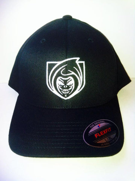 RISK365 APPAREL Black Squad Flexfit Hat