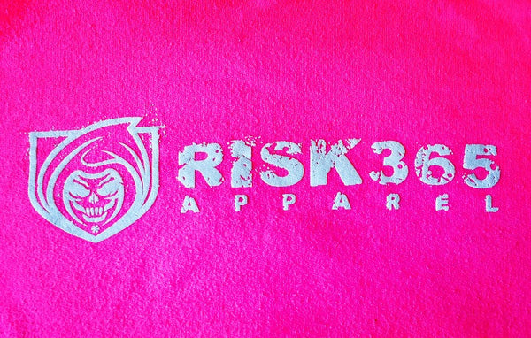 RISK365 APPAREL Reaper Platoon Pink Squad Hoodie