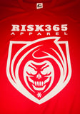 RISK365 APPAREL Mens Athletic Performance Tee