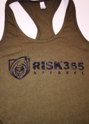 RISK365 Ladies Ideal Racerback Tank