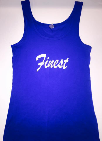 """Finest"" Ladies Tri-Blend Tank"