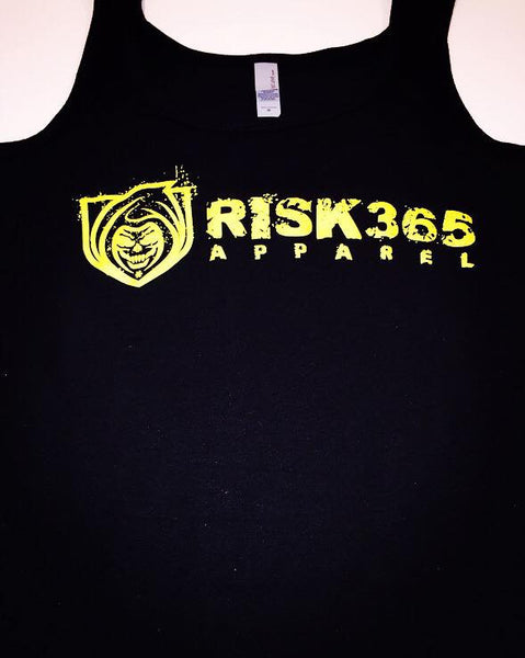 RISK365 APPAREL Thin Yellow Line Ladies Tank Top