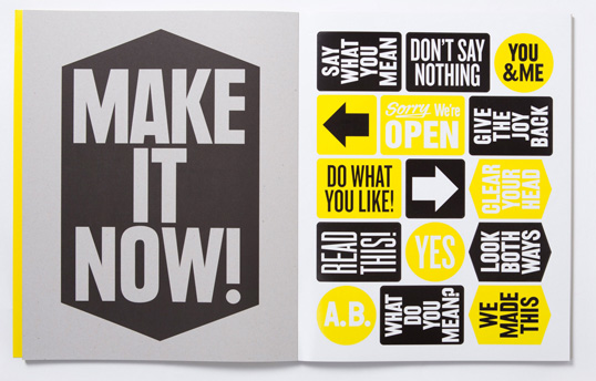 I Like It. What Is It? 30 Posters by Anthony Burrill