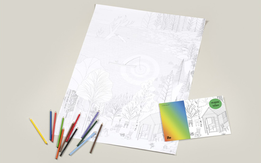 The School of Life: Colouring As Therapy: Walden Pond