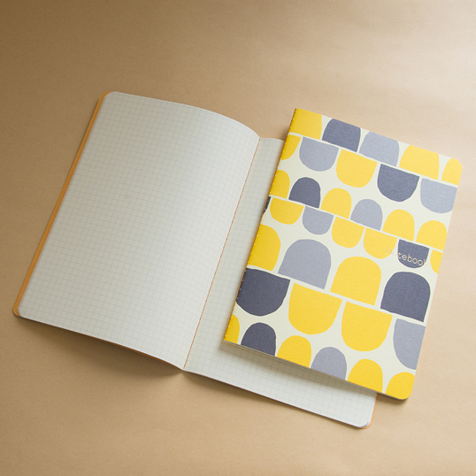 Scandinavian Design Notebook by Yurio Seki: Circle Grid
